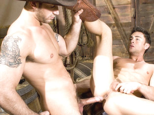 Spencer Reed & Tristan Phoenix in Roll In The Hay, Scene #01