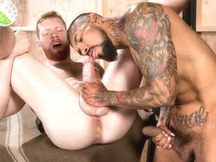 Boomer Banks & Cass Bolton in Backstage Pass, Scene 01 - RagingStallion
