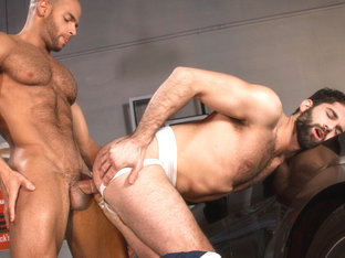 Sean Zevran & Tegan Zayne in Drive Shaft, Scene 01 - RagingStallion