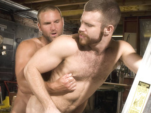 Tom Wolfe & Trent Locke in Woodshop, Scene #01