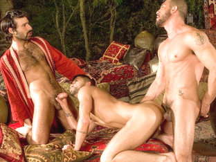 Dominic Pacifico & Aybars & Tony Aziz in Arab Heat, Scene #01