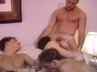 Fabulous male in horny vintage, hunks homo sex scene