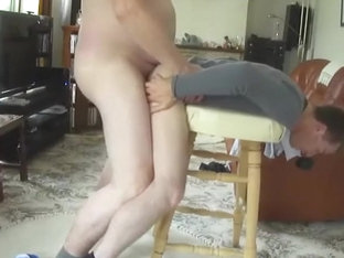 Best Daddy Son Stool Fucking