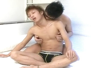 Horny male in exotic asian gay adult video