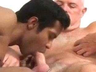 Horny male in amazing bears, oldy gay porn scene