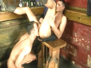Horny male pornstar in fabulous blowjob, tattoos gay sex scene