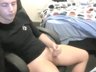 Cute Boy Cum First Time on Cam
