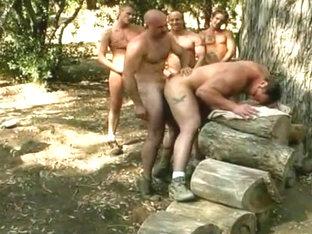 Big Blue - Duke Miller's Lumberjack GangBang