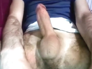 Turkish guy with nice cock shaved balls cums 100