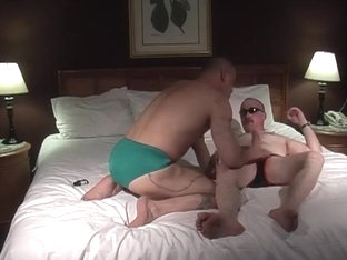 Two Sexy Studs In Tight Underpants Lick Each Others' Asses
