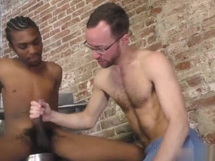 Big dick twinks interracial with facial cum