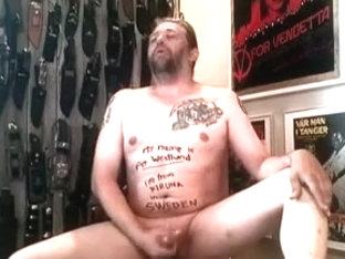 Hot amateur guy from Sweden