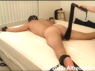 Flogged to tears (HornyScreamer session 3, part 2/2)