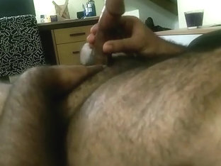Slow wanking and edging Asian Indian cut dick
