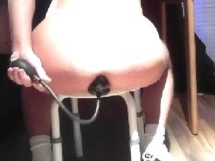 ff-fetish plug + ******dildo