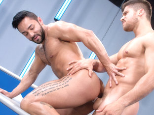 Amped XXX Video: Bruno Bernal & Fabio Acconi - FalconStudios