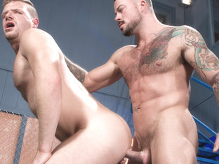 Brian Bonds & Sean Duran in Stiff Sentence, Scene 02 - HotHouse