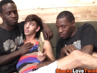 Twink pounded by black