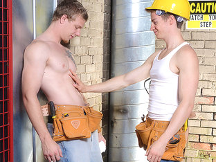 Johnny Forza & Matthew Ryder in Daddy's Workplace Part 3 - DrillMyHole