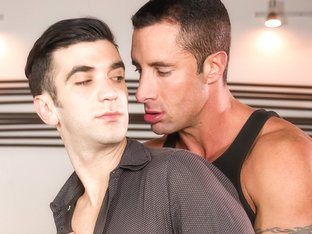 Nick Capra & Andy Banks in The Devil Is In The Details, Scene 02 - IconMale