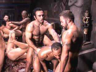 Huessein & Marc LaSalle & Max Schutler & Tamas Eszterhazy & Rambo in Mirage, Scene #05