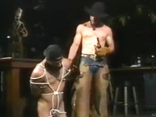 Bondage - Cowboy Master and Boy Slave