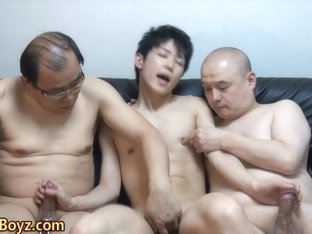 Asian twinks cock sucked
