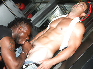 Anal Sex For the Utility Man - OutInPublic