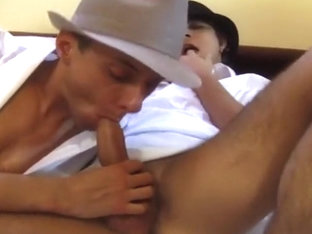 Gay Man Gets Ass Load Of Spunk