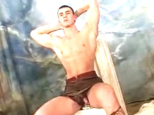 Incredible male in crazy handjob, sports homo adult video