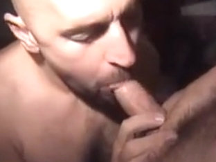 Amazing male in crazy bears, blowjob gay porn clip
