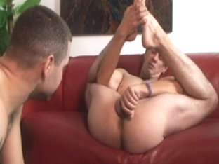 Fabulous male pornstars Mark Galfione and Chad Brooks in horny masturbation, dildos/toys gay xxx v.