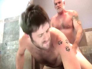 Horny male in fabulous blowjob homo xxx video