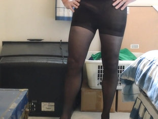 Cocks in pantyhose again