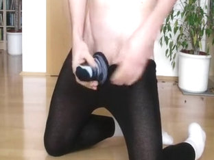 Hose, petite socks and cum