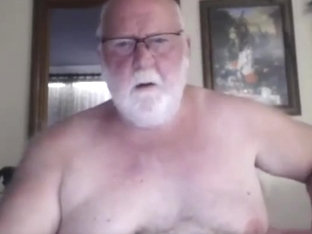 Grandpa show on webcam 2