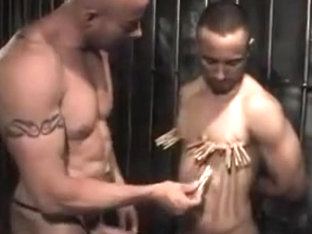 White top master using his black bottom fetish - Part II
