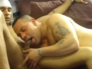 Best male pornstar in horny latins, tattoos homo sex video