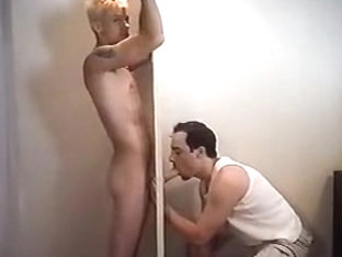 Huge Gloryhole Fuck