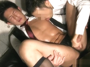 Hot japanese guy serviced