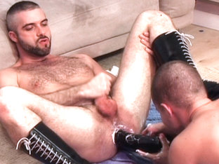 Ashley Ryder & Jenson Lomax & Leonardo in Hung Uncut Filth Edition Scene 3 - Bromo