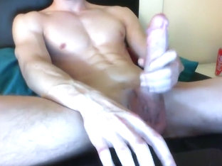 Thick Dick Jerk And Cum Shot Gayboyca