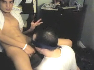 Hottest male in horny blowjob homo porn scene