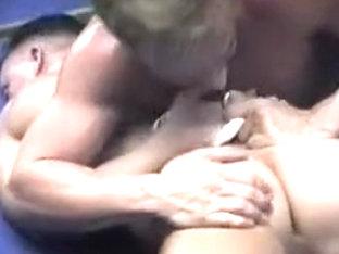 Exotic male in amazing hunks, sports homo porn scene
