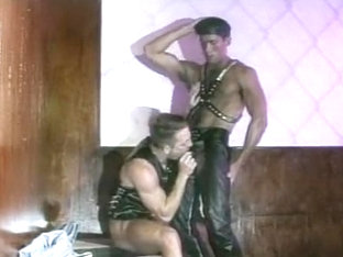 Best homemade gay video with BDSM, Latex scenes