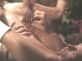 Hottest male pornstars Stan Malone, Bobby Blake and Steve Pierce in fabulous interracial, hunks ho.