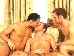 Gay Couple Invites A Guy In For A 3some