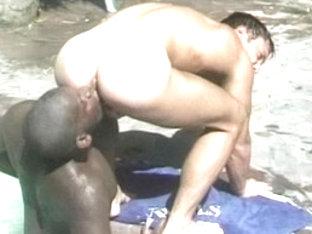 Incredible male pornstar in amazing black, blowjob homo sex scene