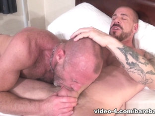 Rocco Steele and Chad Brock - BarebackThatHole