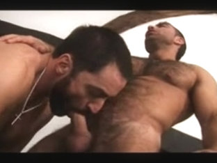 Homosexual Bear Sex with Charlie and Claudio